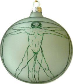 Da Vinci's Virtuvian Man