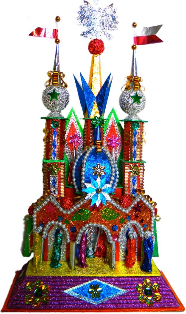 Krakow Nativity with Wawel chapel