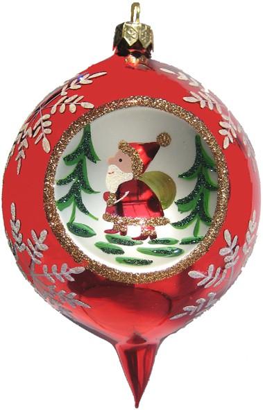 Red Ball Santa
