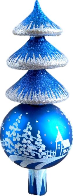 Winter Wonderland Finial