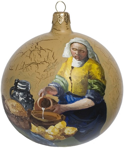 Vermeer's The Milkmaid