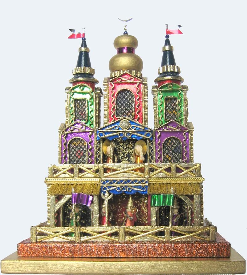 Miniature Krakow Nativity by competiton winner Kirsz