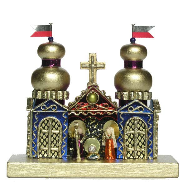 Miniature Krakow Nativity by competition winner Kirsz