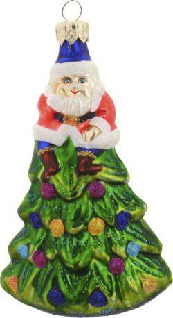 Treetop Santa