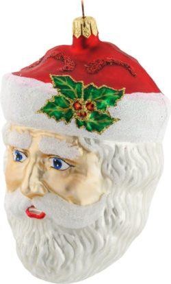 Edwardian Santa Head