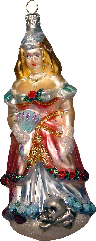 La Traviata's Violetta Christmas ornament