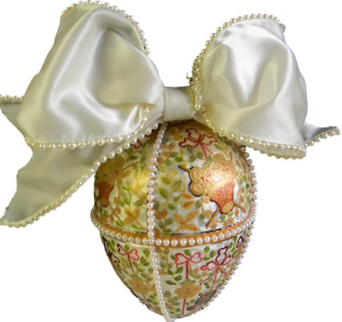 Faberge's Gatchin Palace Egg