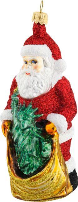Santa Brings the Statue of Liberty