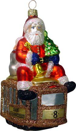 Cable Car Santa