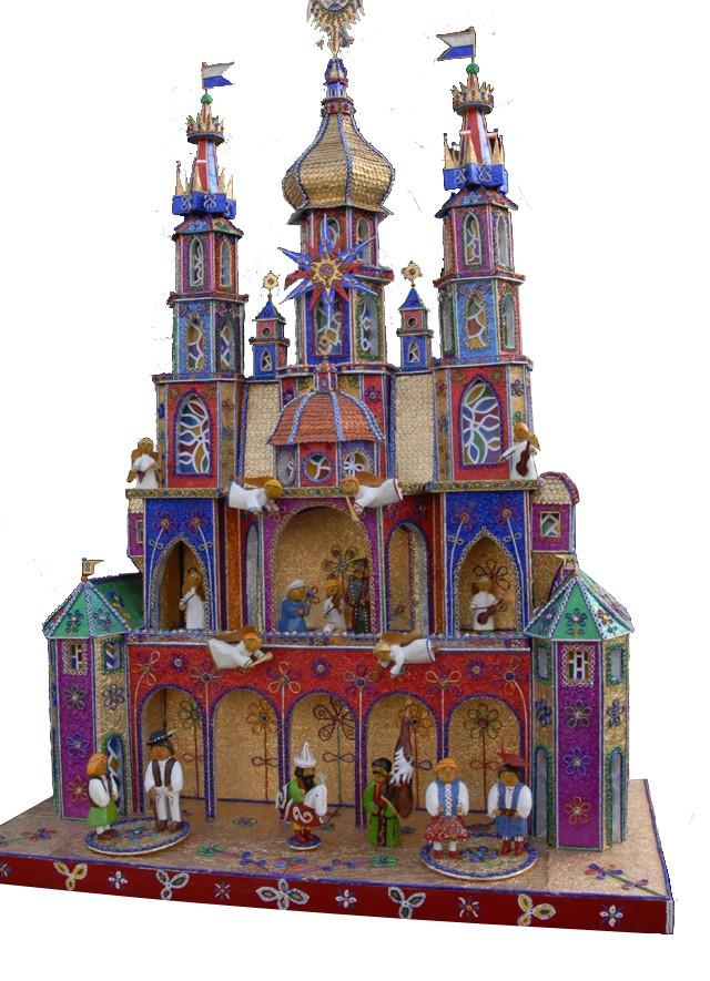 Krakow Nativity competition 2009 winner for Family creativity