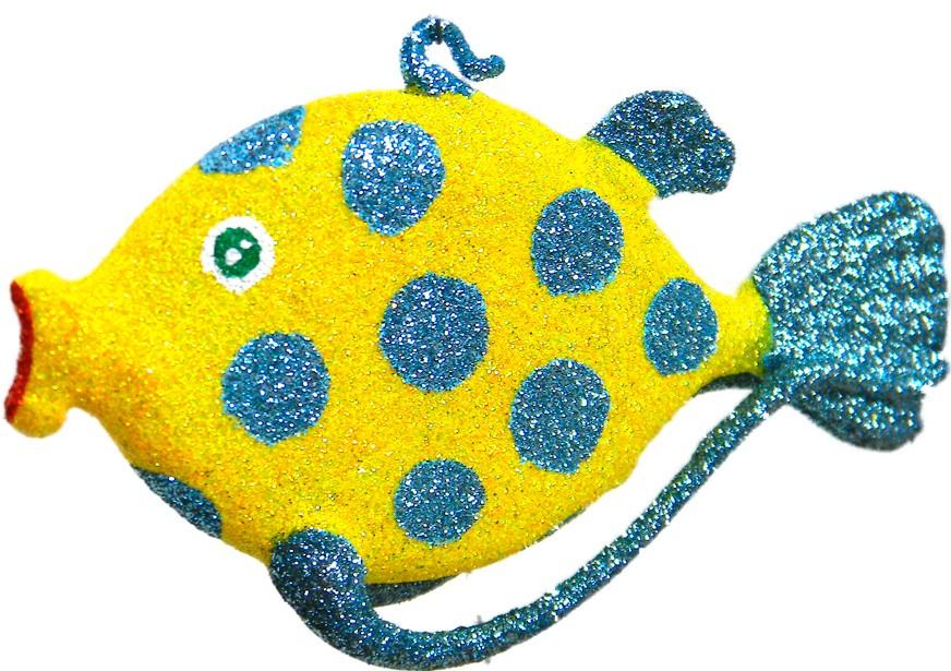 Yellow Polka dot fish