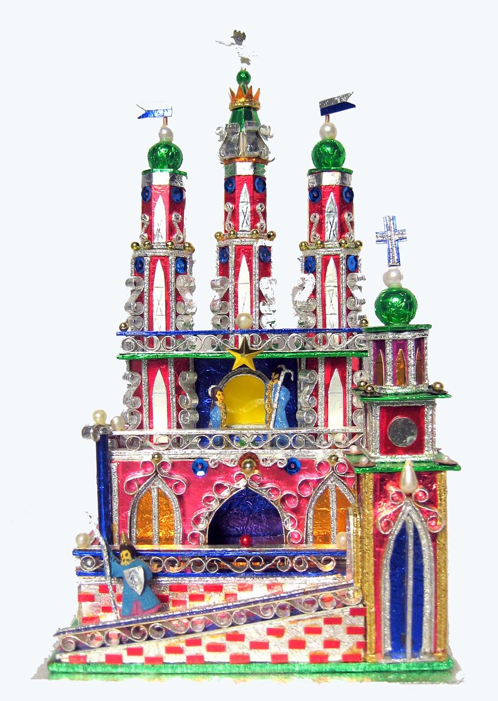 One of a kind Krakow Nativity Gluch brick series II