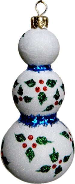Triple ball snowman