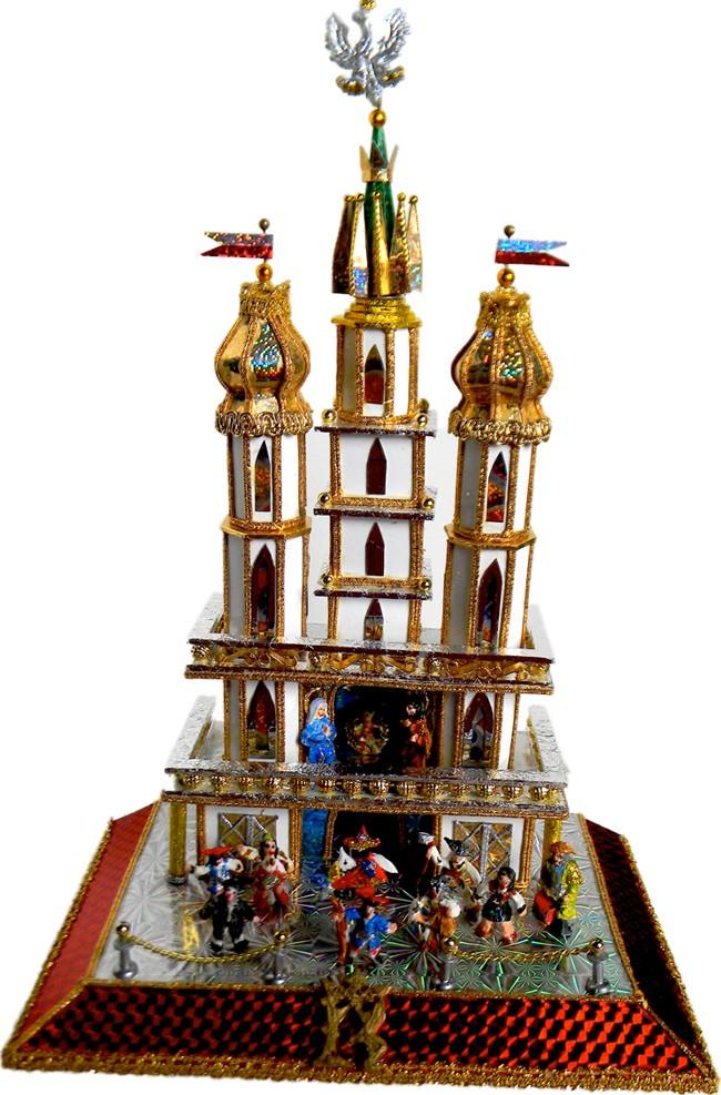 Krakow nativity szopka one of a kind