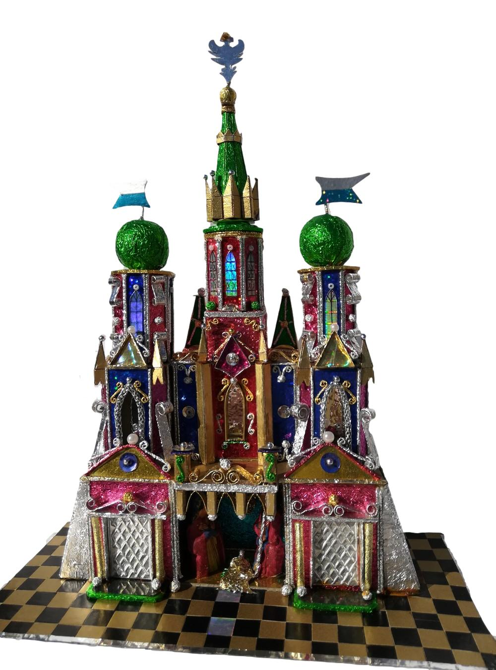 Krakow Nativity by competition winner Jacek Green spires