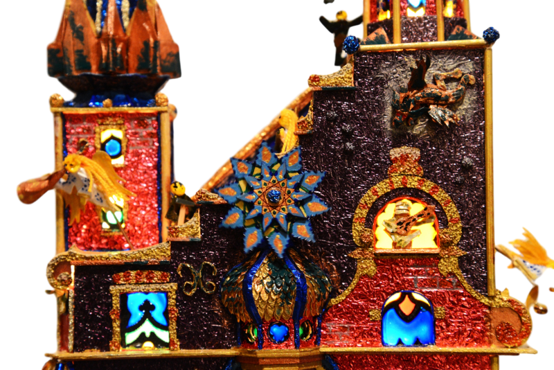 Detail from the 2016 entry to the Krakow Nativities competition
