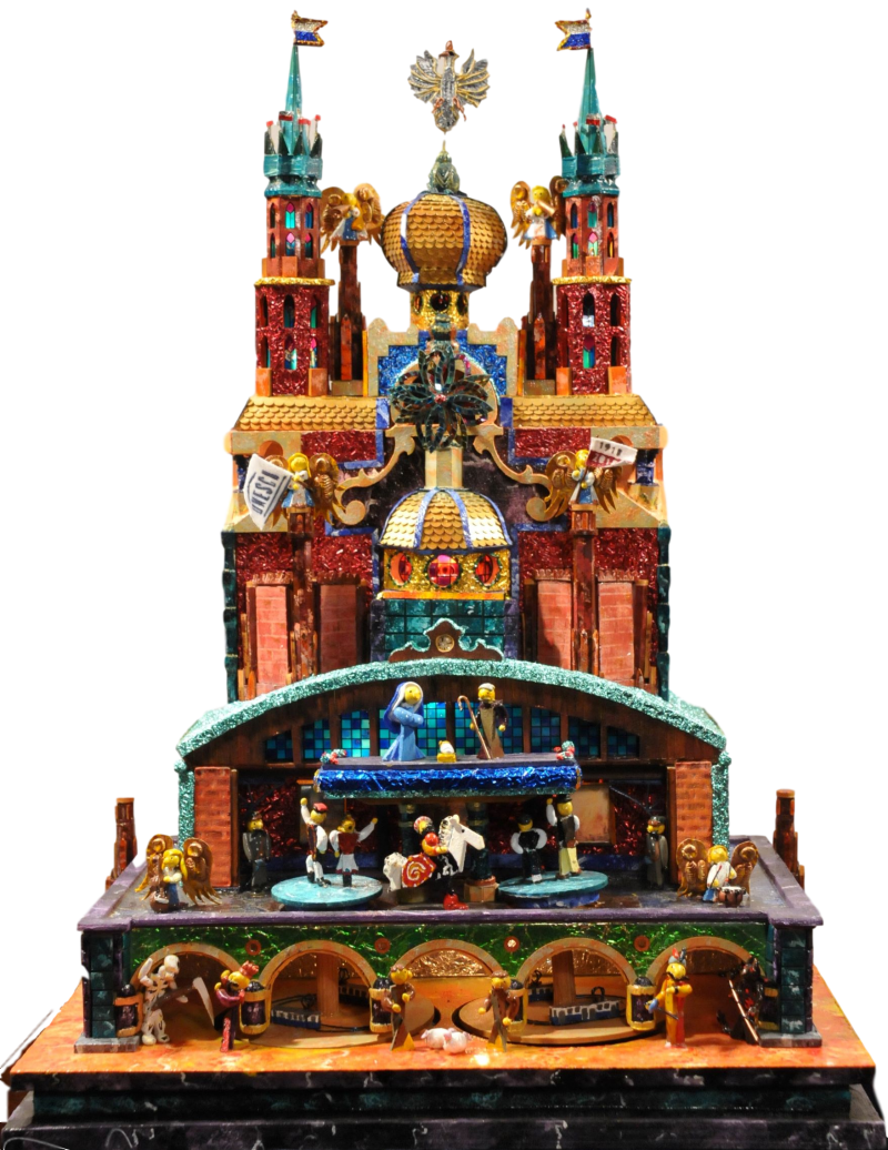 Szopka entered to the 76th Krakow Nativities competition