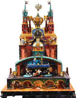 One of a kind szopka entry to the 2017 Krakow Nativity competition