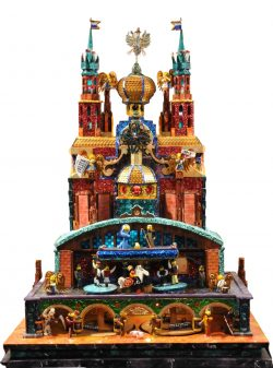 The Krakow bridges szopka from the 76th Krakow Nativity competition
