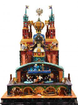 The Krakow bridges szopka from the 76th Krakow Nativity competition