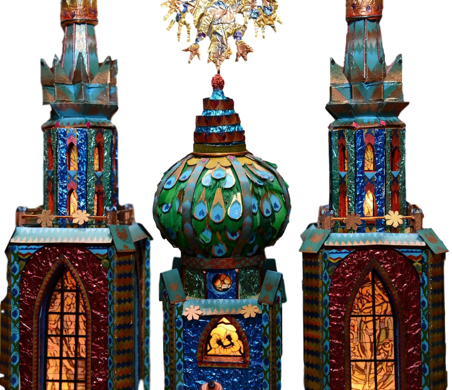 Wyspainski szopka from Krakow Nativities competition