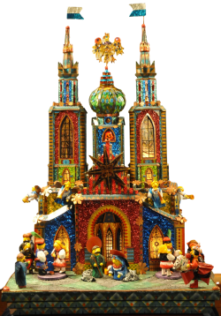 Competition Krakow Nativity - The Wyspianski szopka