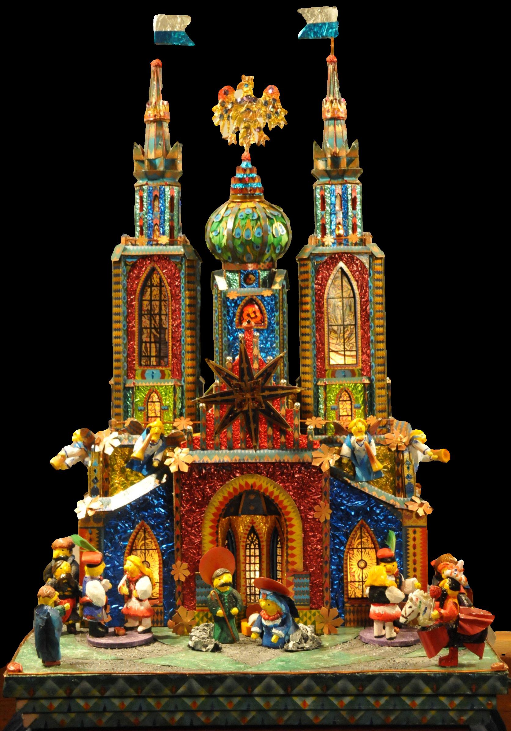 Competition Krakow Nativity - The Wyspianski szopka