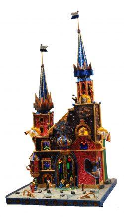 Uniquely original szopka Krakow Nativity from the 74th Krakow Nativities competition